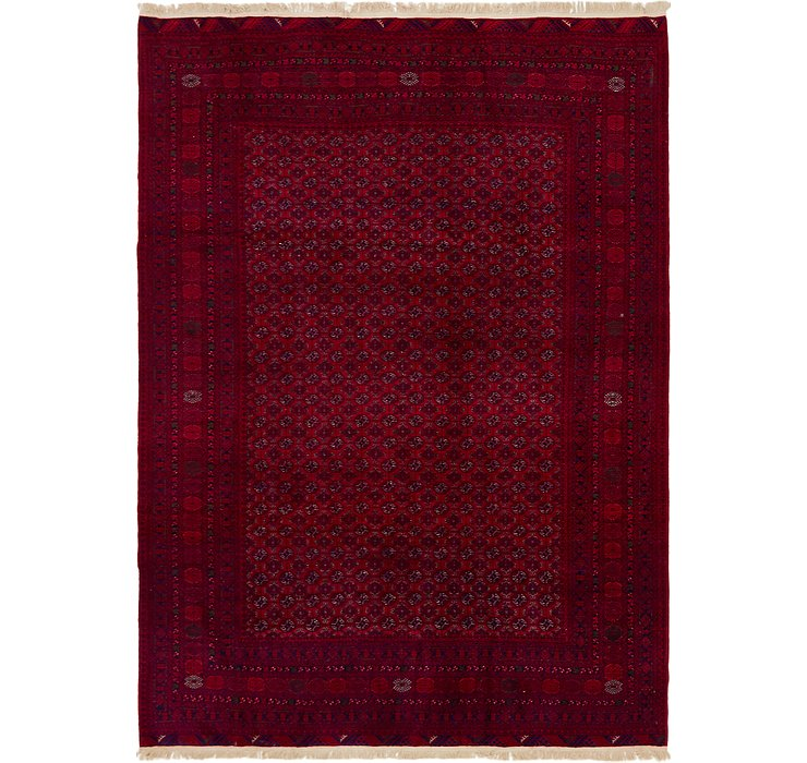 6' 10 x 9' 7 Afghan Mouri Oriental Rug