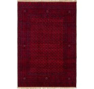 Link to 6' 7 x 9' 8 Afghan Mouri Oriental Rug