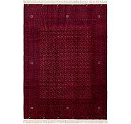 Link to 6' 7 x 9' 4 Afghan Mouri Oriental Rug