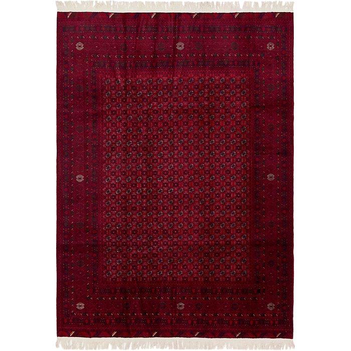 6' 7 x 9' 4 Afghan Mouri Oriental Rug
