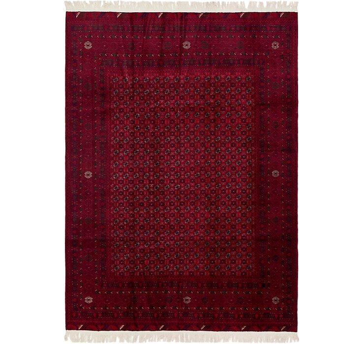 200cm x 285cm Afghan Mouri Oriental Rug