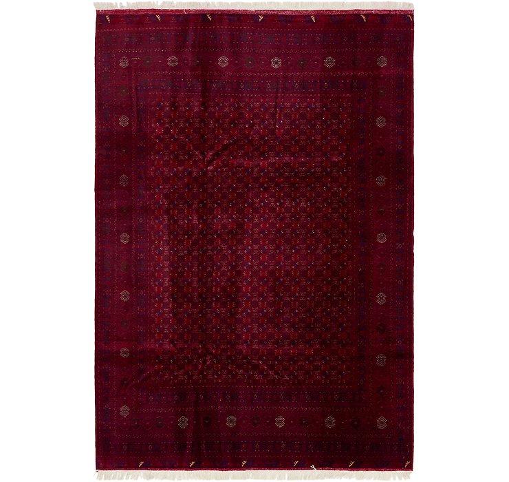 6' 6 x 9' 9 Afghan Mouri Oriental Rug