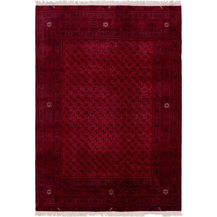 6' 7 x 9' 7 Afghan Mouri Oriental Rug