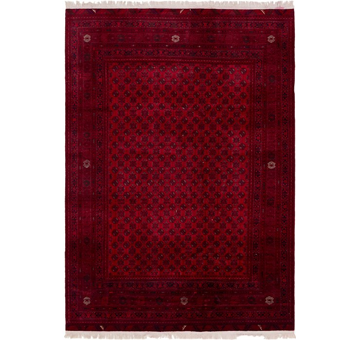 200cm x 292cm Afghan Mouri Oriental Rug