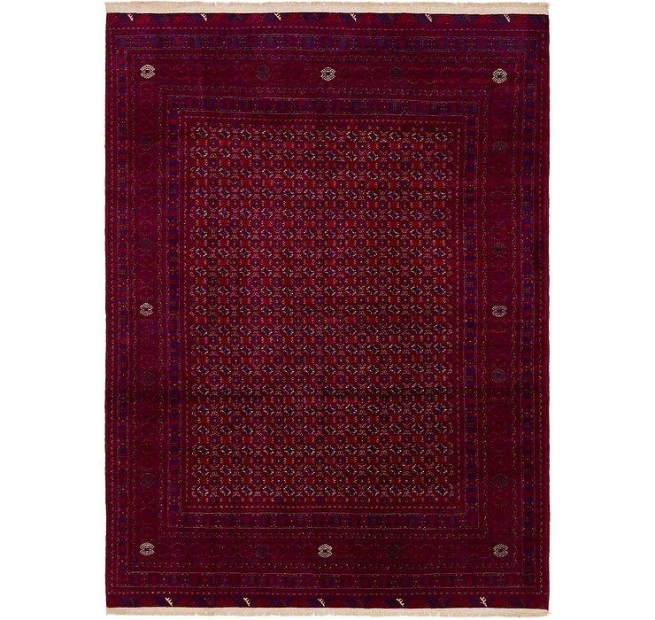 6' 10 x 9' 5 Afghan Mouri Oriental Rug