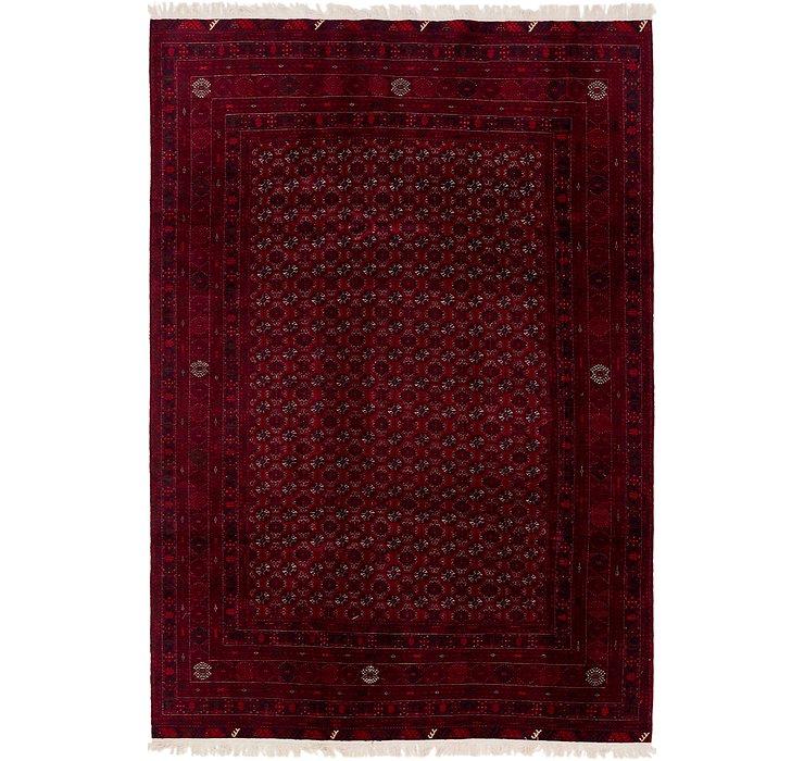 6' 5 x 9' 4 Afghan Mouri Oriental Rug