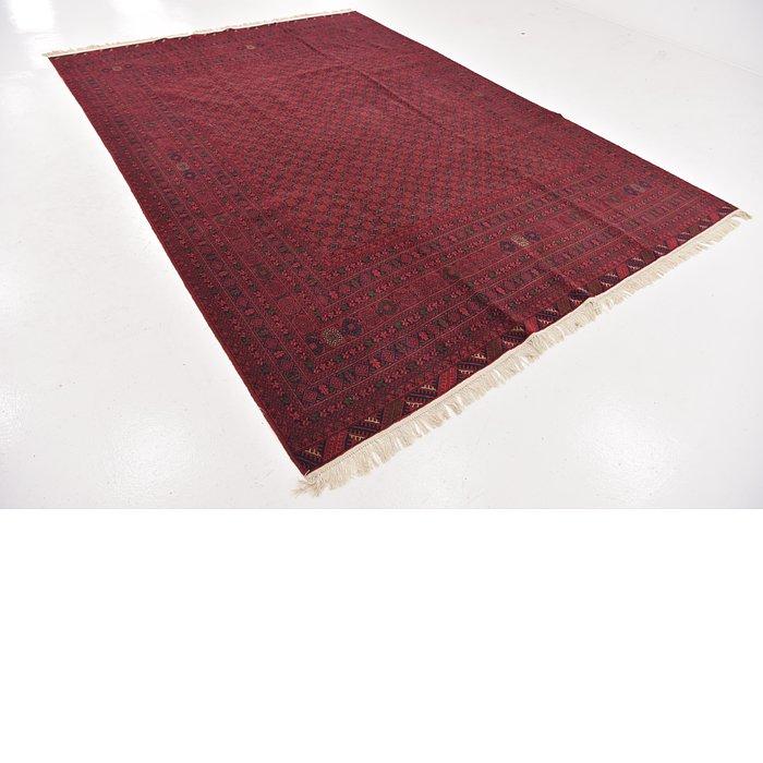 8' x 11' Afghan Mouri Oriental Rug