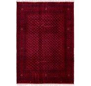 Link to 6' 6 x 9' 8 Afghan Mouri Oriental Rug