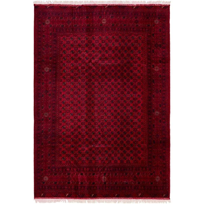 6' 6 x 9' 8 Afghan Mouri Oriental Rug