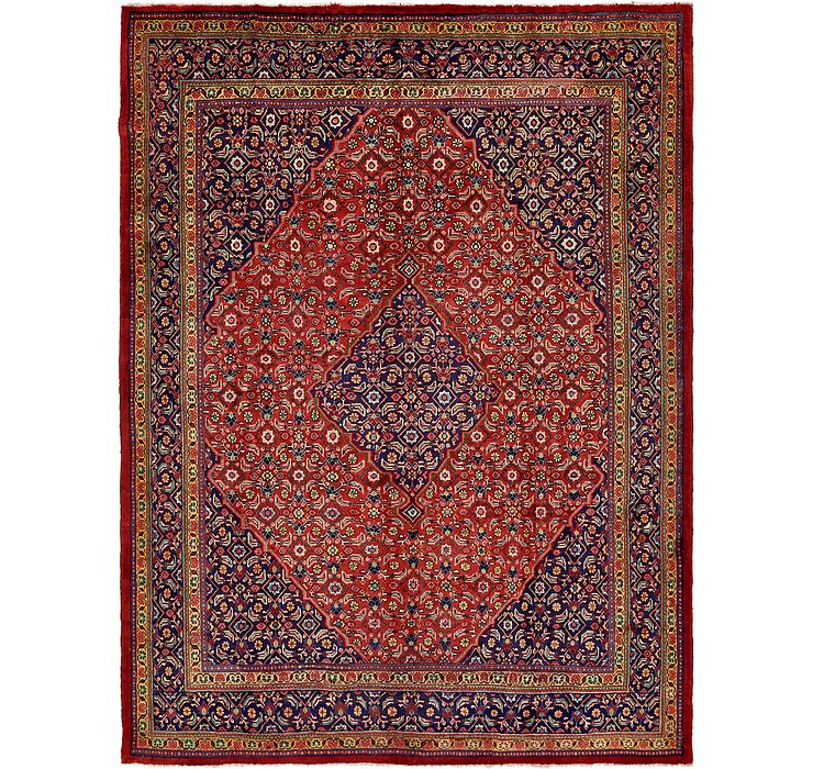 10' x 13' 2 Joshaghan Persian Rug