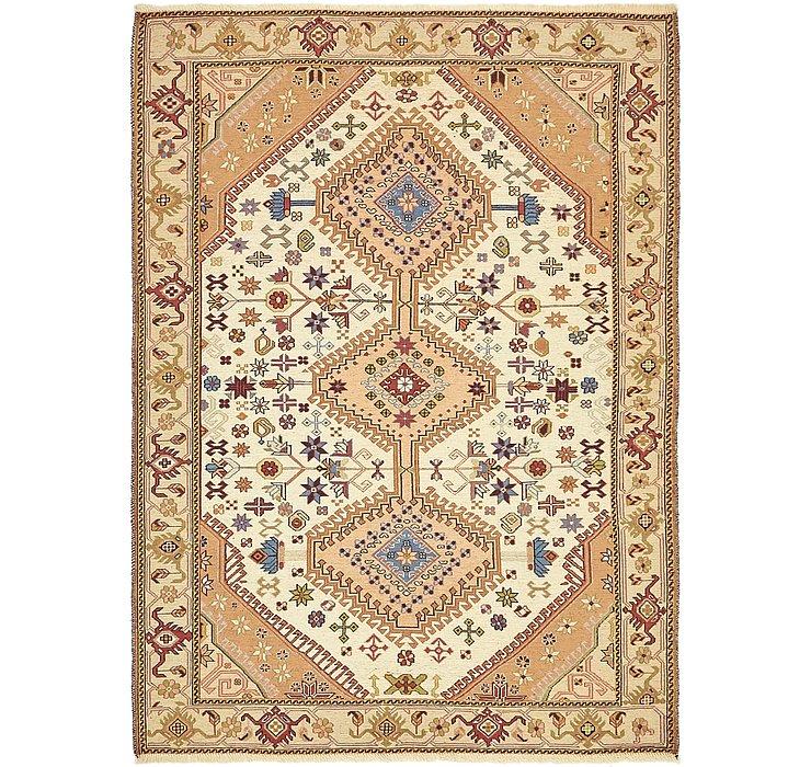 4' 4 x 6' Sirjan Persian Rug