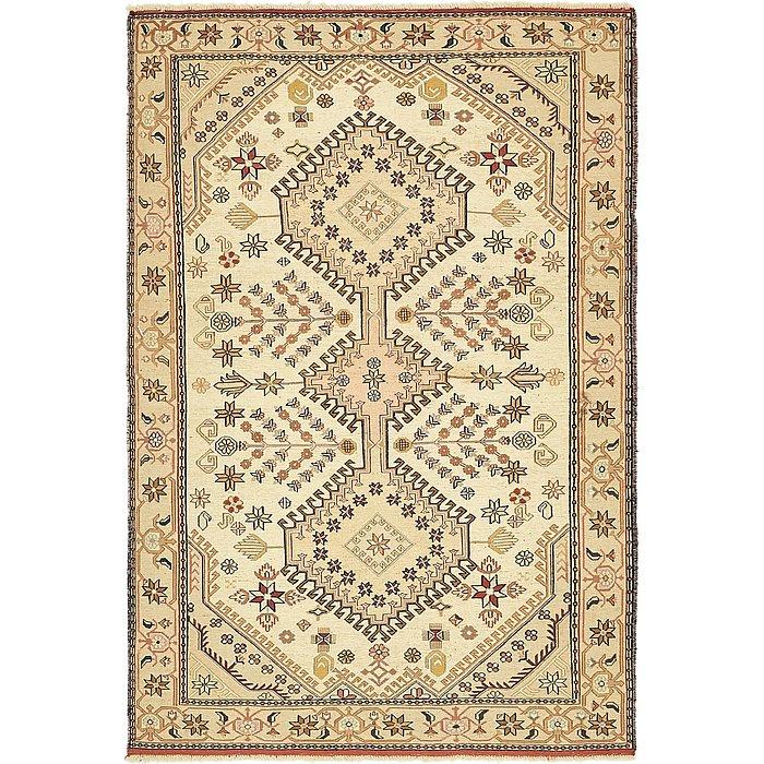 4' 3 x 6' 5 Sirjan Persian Rug