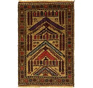 Link to 80cm x 130cm Balouch Persian Rug