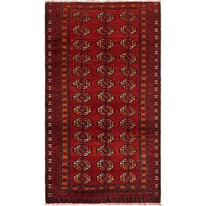 Unique Loom 3' 6 x 6' 3 Balouch Persian Rug