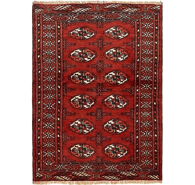 3' x 4' 4 Torkaman Persian Rug