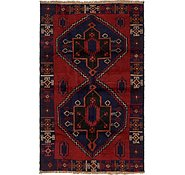 Link to 3' 7 x 5' 9 Balouch Persian Rug