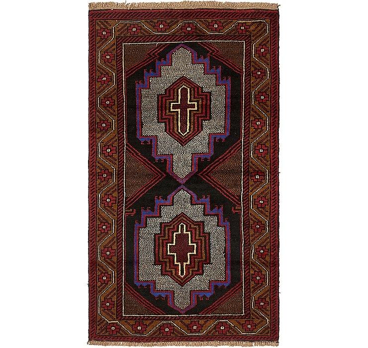 3' 4 x 6' Balouch Persian Rug