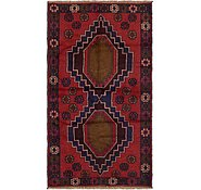 Link to 3' 7 x 6' 4 Balouch Persian Rug