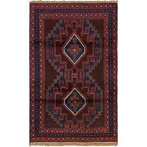 Unique Loom 3' x 4' 10 Balouch Persian Rug