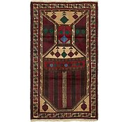 Link to 3' x 5' 2 Balouch Persian Rug