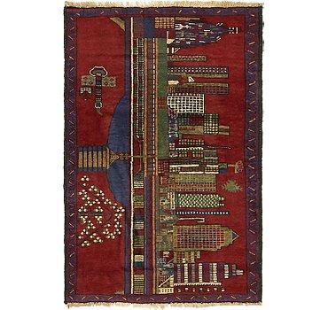 84x130 Balouch Rug
