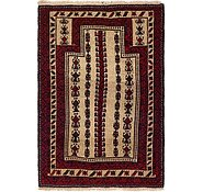 Link to 3' 2 x 4' 8 Balouch Persian Rug