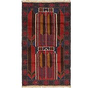 Link to 2' 6 x 4' 8 Balouch Persian Rug