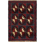 Link to 2' 10 x 4' Balouch Persian Rug