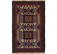 Link to 3' x 4' 6 Balouch Persian Rug