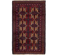 Link to HandKnotted 3' x 4' 9 Balouch Persian Rug