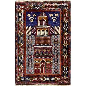 Unique Loom 2' 10 x 4' 6 Balouch Persian Rug