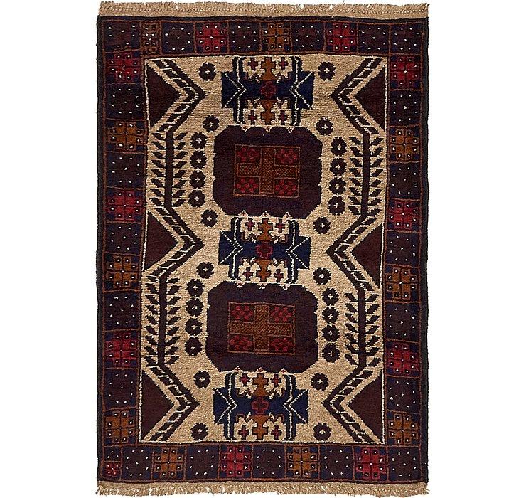 90cm x 135cm Balouch Persian Rug