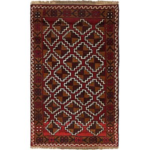 Unique Loom 2' 8 x 4' 7 Balouch Persian Rug