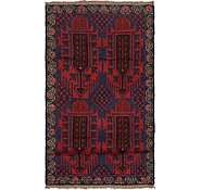 Link to Unique Loom 2' 10 x 4' 7 Balouch Persian Rug