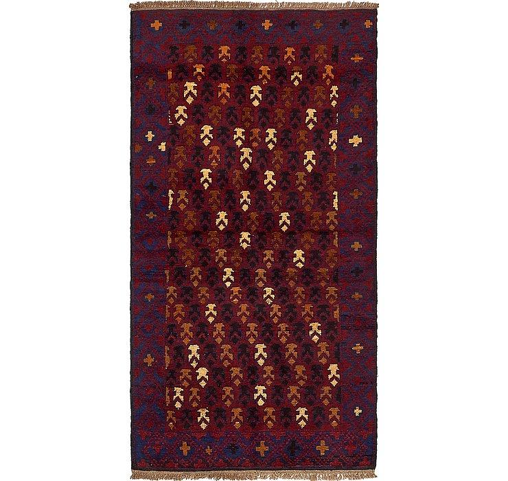 3' 4 x 6' 6 Balouch Persian Rug
