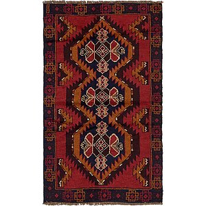 Unique Loom 3' 3 x 5' 10 Balouch Persian Rug