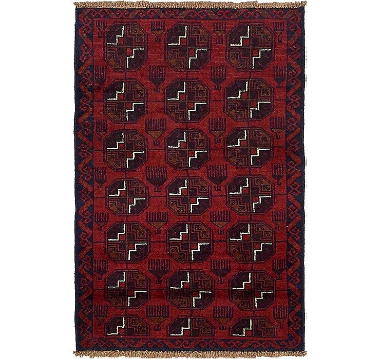 3' x 4' 7 Balouch Persian Rug
