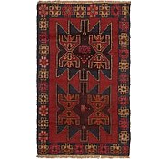 Link to 2' 8 x 4' 6 Balouch Persian Rug