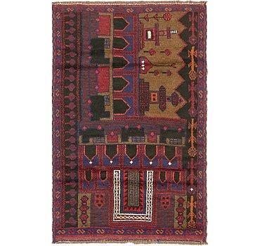 86x135 Balouch Rug