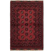 Link to HandKnotted 3' 4 x 5' Afghan Akhche Rug
