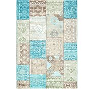 Link to 5' 2 x 7' 5 Patchwork Rug
