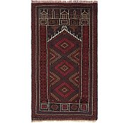 Link to 2' 7 x 4' 8 Balouch Persian Rug