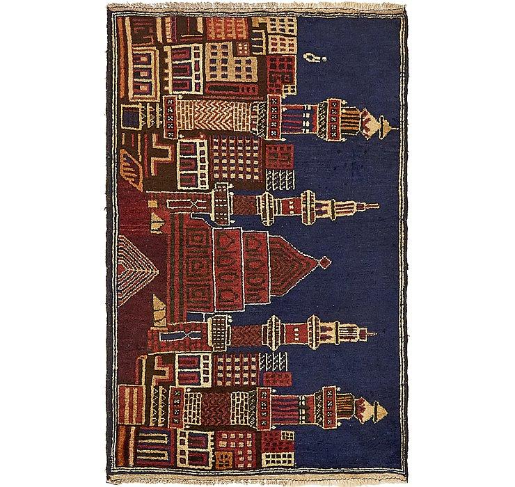 2' 10 x 4' 6 Balouch Persian Rug
