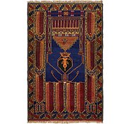 Link to 3' 3 x 5' 2 Balouch Persian Rug