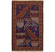 Link to 85cm x 132cm Balouch Persian Rug