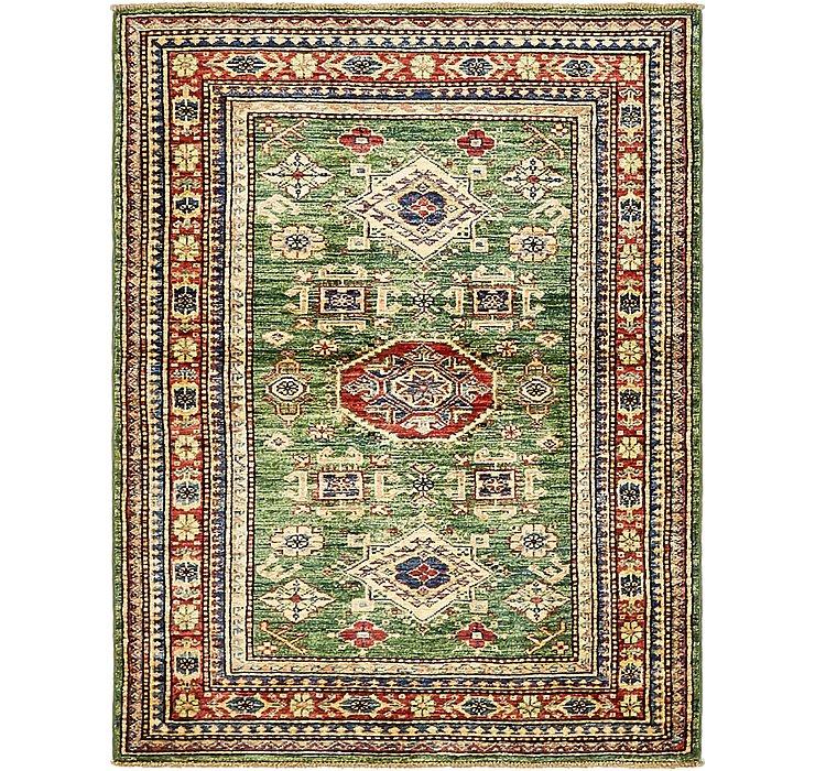 105cm x 137cm Kazak Oriental Rug