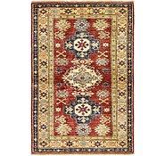 Link to Unique Loom 3' 5 x 5' 2 Kazak Oriental Rug