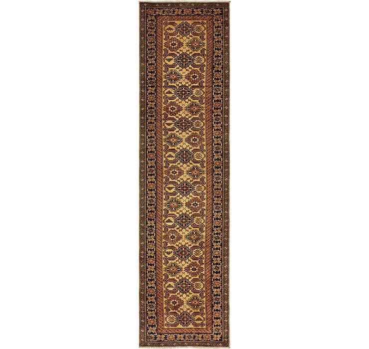 2' 7 x 10' 4 Kazak Oriental Runner Rug