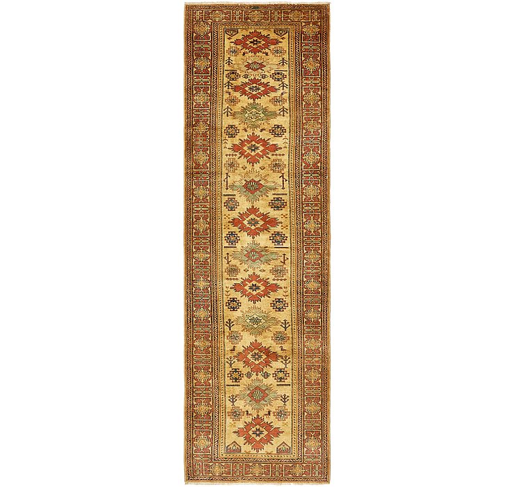 85cm x 287cm Kazak Oriental Runner Rug