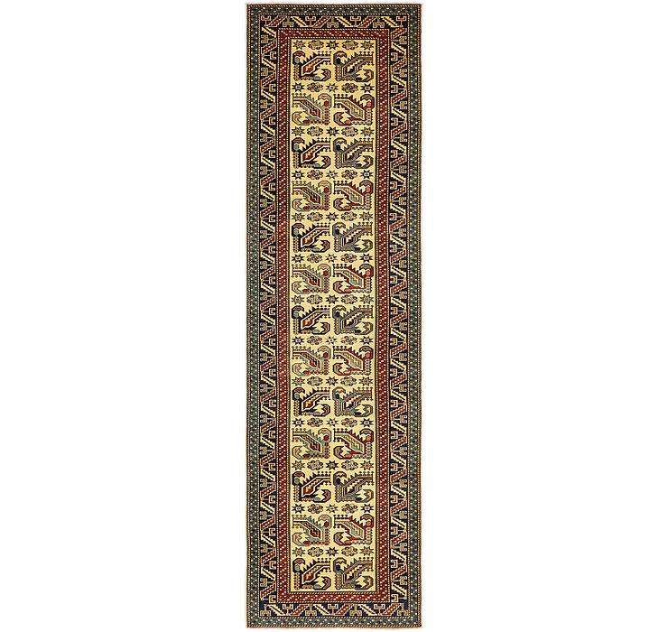 2' 10 x 10' 7 Kazak Oriental Runner Rug